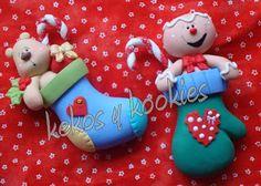 Kekos et Kookies: motifs de Noël