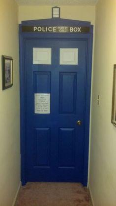 Doctor Who TARDIS door MUST HAVE & AWESOME wins (19 photos)   Tardis door Bedroom doors and Tardis