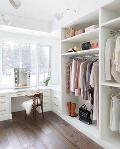 Walk In Closet Design, Bedroom Closet Design, Master Bedroom Closet, Closet Designs, Spare Room Closet, Closet Rooms, Bedroom Closets, Bedroom Small, Bedroom Modern