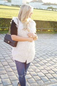 #fashion #blog #blogger #ootd #style #outfit #cozy #comfy #vest #topshop #romantic #sunset #fashionblogger