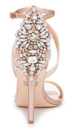 Wedding Shoes - Badgley Mischka
