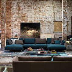 rolf benz lederbank. Black Bedroom Furniture Sets. Home Design Ideas