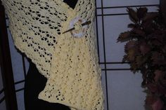 "A Lace Wrap    14"" x 68""  (approximate size) by monroe2830 on Etsy"