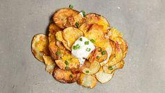 Chipsy z młodych ziemniaczków – do grilla w sam raz!