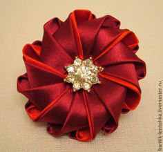 Beautiful Kanzashi from Bantik - lentochka, Moscow