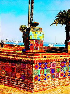 Catalina island fountain