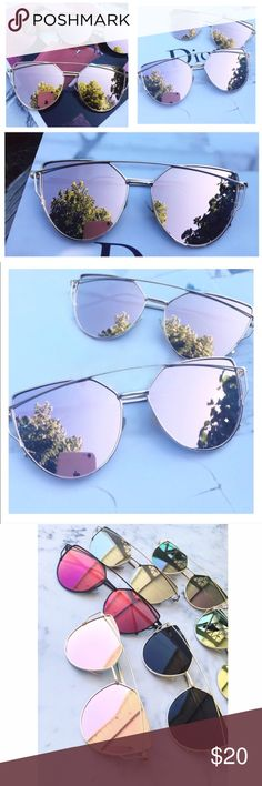 Mirror reflecting sunglasses Brand new! In original packing! Choose your color below! Accessories Sunglasses