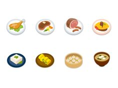 http://dribbble.com/shots/1226984-Food-icons
