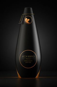 Licor Beirão Premium is a Portuguese liqueur whose recipe is a well-kept trade secret. Cool Packaging, Beverage Packaging, Bottle Packaging, Brand Packaging, Packaging Design, Product Packaging, Olive Oil Packaging, Alcohol Bottles, Liquor Bottles