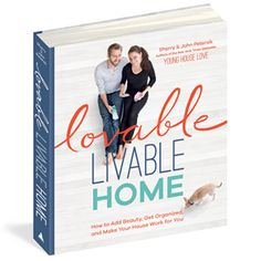 ❤️ Our new book, Lovable Livable Home (300+ pages worth of spaces, makeovers, & ideas) is now available for preorder and will be in stores on September 22nd! #ahhh!