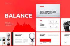 BALANCE Free PowerPoint Keynote Template #presentation