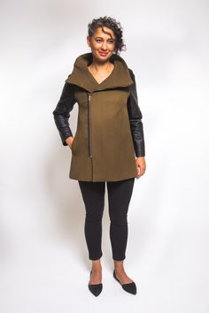 Clare Coat Pattern //  Closet Case Patterns