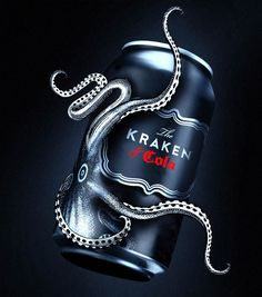 The Kraken & Cola by Mariana Navarrete