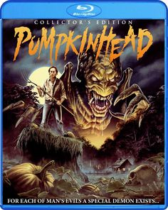 Scream Factory's Pumpkinhead Blu-ray Art - Hell Horror