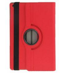 Roterende deksel og stativ til iPad Air - rød