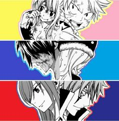Stay by my side - Fairy Tail ~ DarksideAnime Gajevy, Zeref, Gruvia, Fairy Tail Family, Fairy Tail Couples, Juvia And Gray, Jellal And Erza, Fariy Tail, Fairy Tail Ships