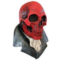 Ce masque en latex, peint à la main, sera idéal pour compléter votre déguisement…