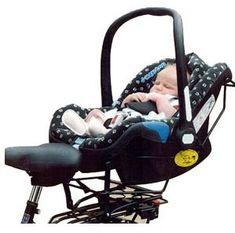 Support de vélo pour Maxi-Cosi ou autre coque bébé