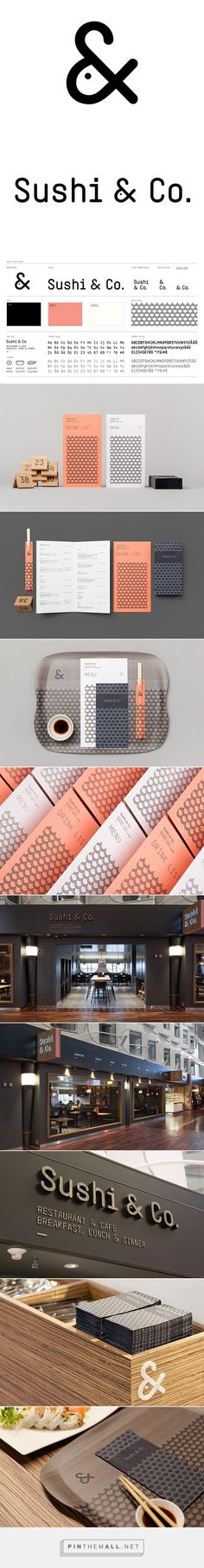 Great Branding - Sushi & Co. #logo #branding | pinned by www.amgdesign.nz
