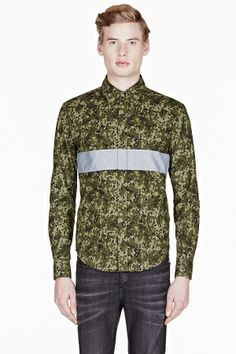 SSENSE x Band of Outsiders - Camo collection