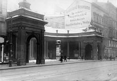 Berlin 1928 Die Spittelkolonnaden in der Leipziger Strasse