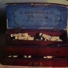Vintage paint box.