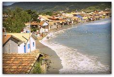Praia de Garopaba - sc  Foto:Ari Almeida