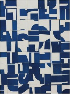 Carl Andre, Untitled,1958-1963. Printed paper collage on board: 17 5/8 x 13½ in. (44.7 x 34.2 cm. on ArtStack #carl-andre #art