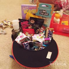 Easter basket for my boyfriend created by me pinterest easter basket grift for boyfriend what guy wouldnt like a buch of his negle Choice Image