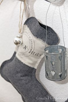 Love the coolness of this Christmas stocking