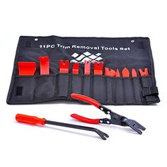 AFA 13 Pcs Auto Upholstery Tools Strong Nylon Wont Break Like ABS BONUS Clip Pliers Fastener Remover ** Continue to the product at the image link. (This is an affiliate link) Upholstery Repair, Upholstery Tacks, Upholstery Cushions, Furniture Upholstery, Upholstery Cleaning, Living Room Upholstery, Car Tools, Removal Tool, Fasteners