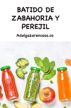 5 Batidos verdes para adelgazar la barriga Healthy Juices, Healthy Smoothies, Healthy Drinks, Ideal Weight Loss, Lose Weight At Home, Loose Weight, Detox Recipes, Healthy Recipes, Korean Diet