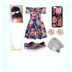 """Random #6 (Floral)"" by skylarev32 on Polyvore featuring New Look, Vans, Miss Selfridge, Sydney Evan and River Island"