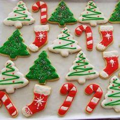 Receta fácil para hacer galletas navideñas