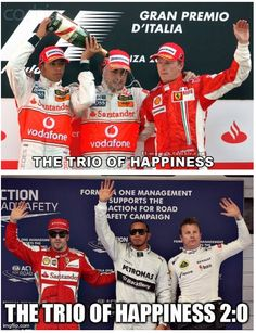 Twitter / Loose_Wheel_Nut: The trio of happiness reloaded ...