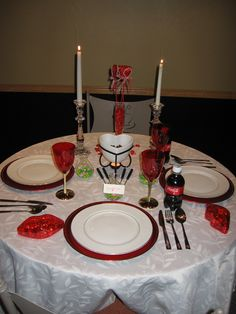 Valentine's Day ~ Table