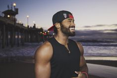 All smiles. With Love from Huntington Beach.  London to L.A…