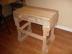 Picture of Two Pallet Table