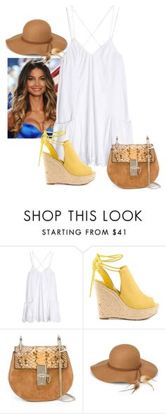 2017/43 by dimceandovski on Polyvore featuring OndadeMar, GUESS, Chloé and Steve Madden