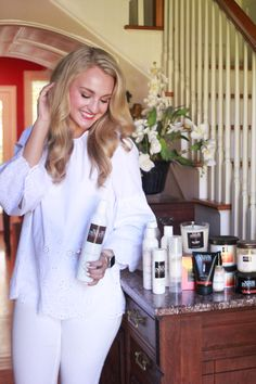My favorite natural beauty products from Wayne Powers Apothecary in Columbia, South Carolina + why you need to try all of them too! My Beauty, Natural Beauty, Hair Beauty, Cute Little Houses, Aging Process, Apothecary, Your Hair, Style Me, Ruffle Blouse