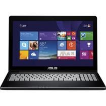 "Asus - 15.6"" Touch-Screen Laptop - Intel Core i5 - 8GB Memory - 750GB Hard Drive - Black"