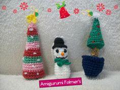 Feliz Natal Amigurumi