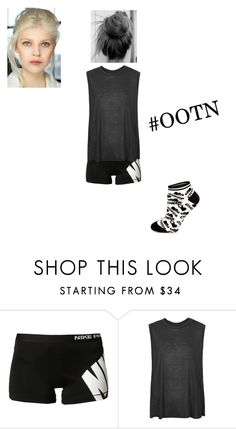 """Outfit Of The Night:Sleep!"" by depressedandbroken ❤ liked on Polyvore featuring NIKE, Boutique, Chassè, women's clothing, women, female, woman, misses and juniors"
