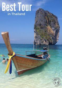 Você não pode deixar de fazer o melhor Passeio na Tailândia! Ele de sai de Aonang e te leva pra 4 ilhas incríveis.