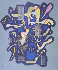 Grilles and other forms (Grilles et autres) by Wassily Kandinsky
