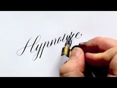 "We asked master calligrapher, Sebastian ""Seb"" Lester, which words from his…"