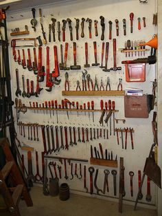 Tool Board by Flickr 7500, via Flickr