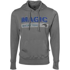 Sportiqe Orlando Magic Gray Thermal Pullover Hoody Sweatshirt