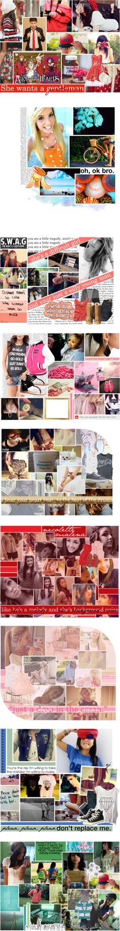 """""""girl characters [ignore]"""" by pastelstars-x ❤ liked on Polyvore"""