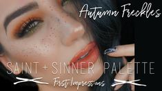 Kat Von D Saint And Sinner Palette First Impressions | QuinnFace - YouTube